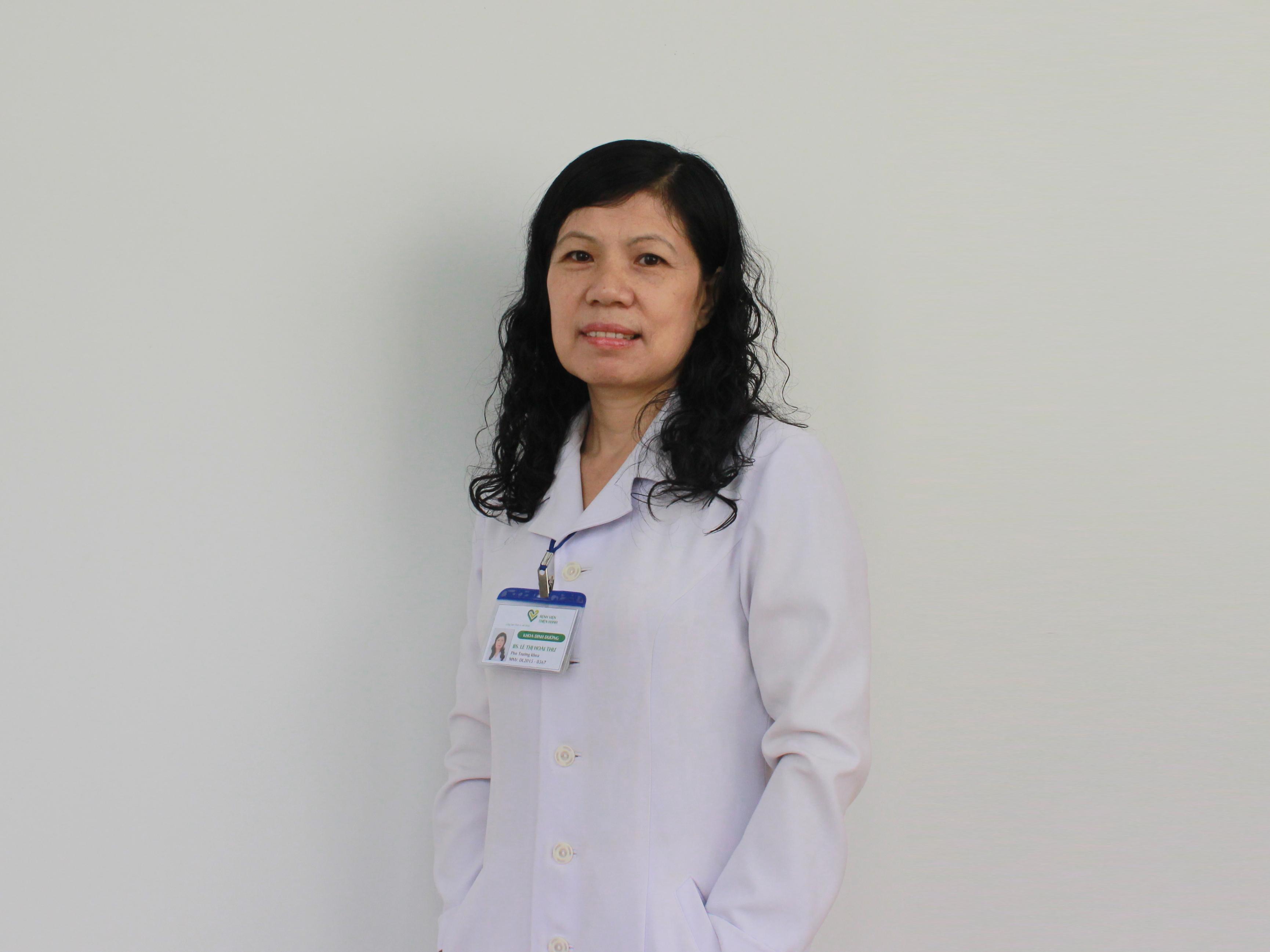 BS. Lê Thị Hoài Thư – Phó Trưởng Khoa