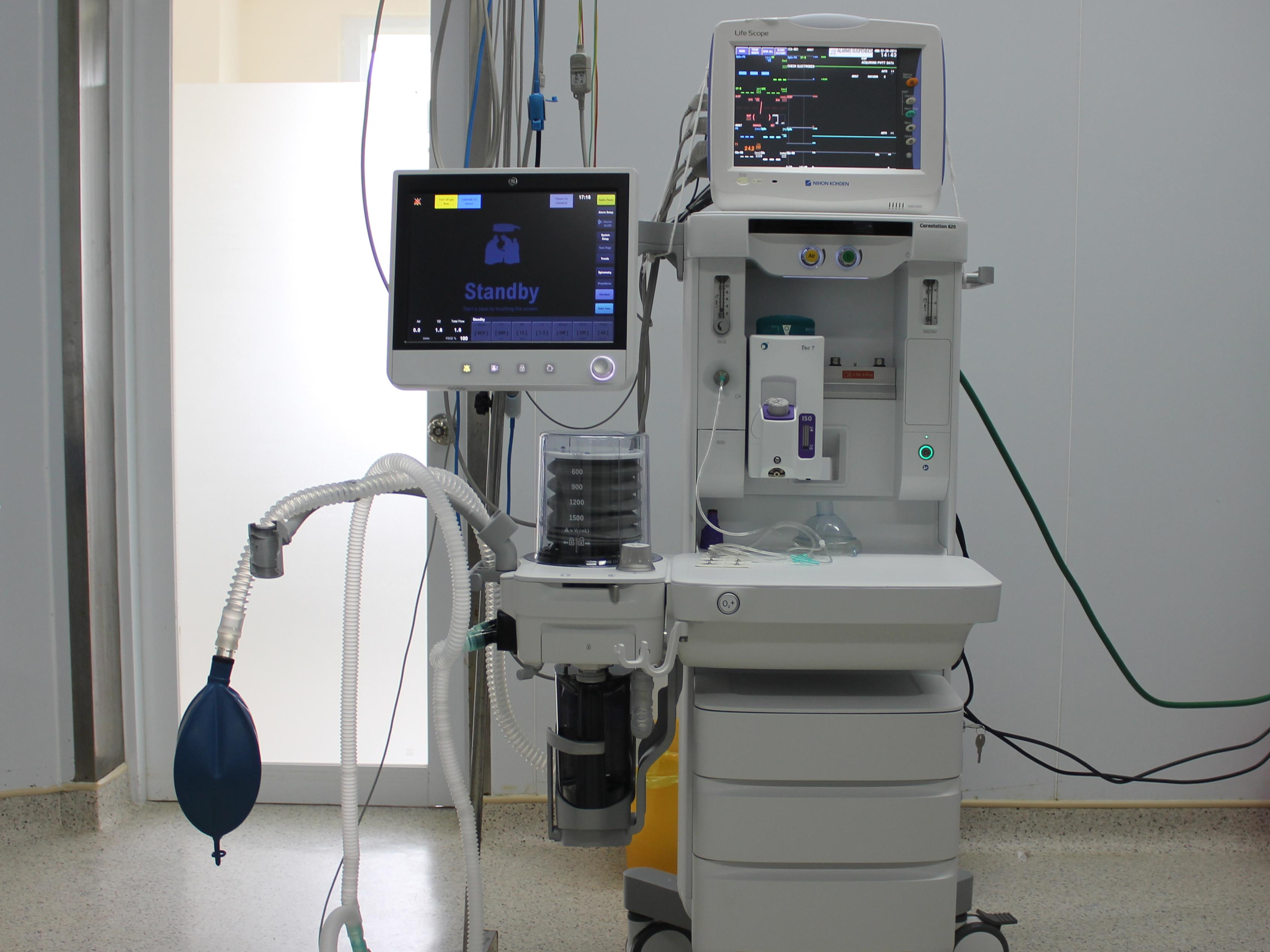 Máy Gây Mê Hiện đại: Omeda CS2, Carestation Của Mỹ
