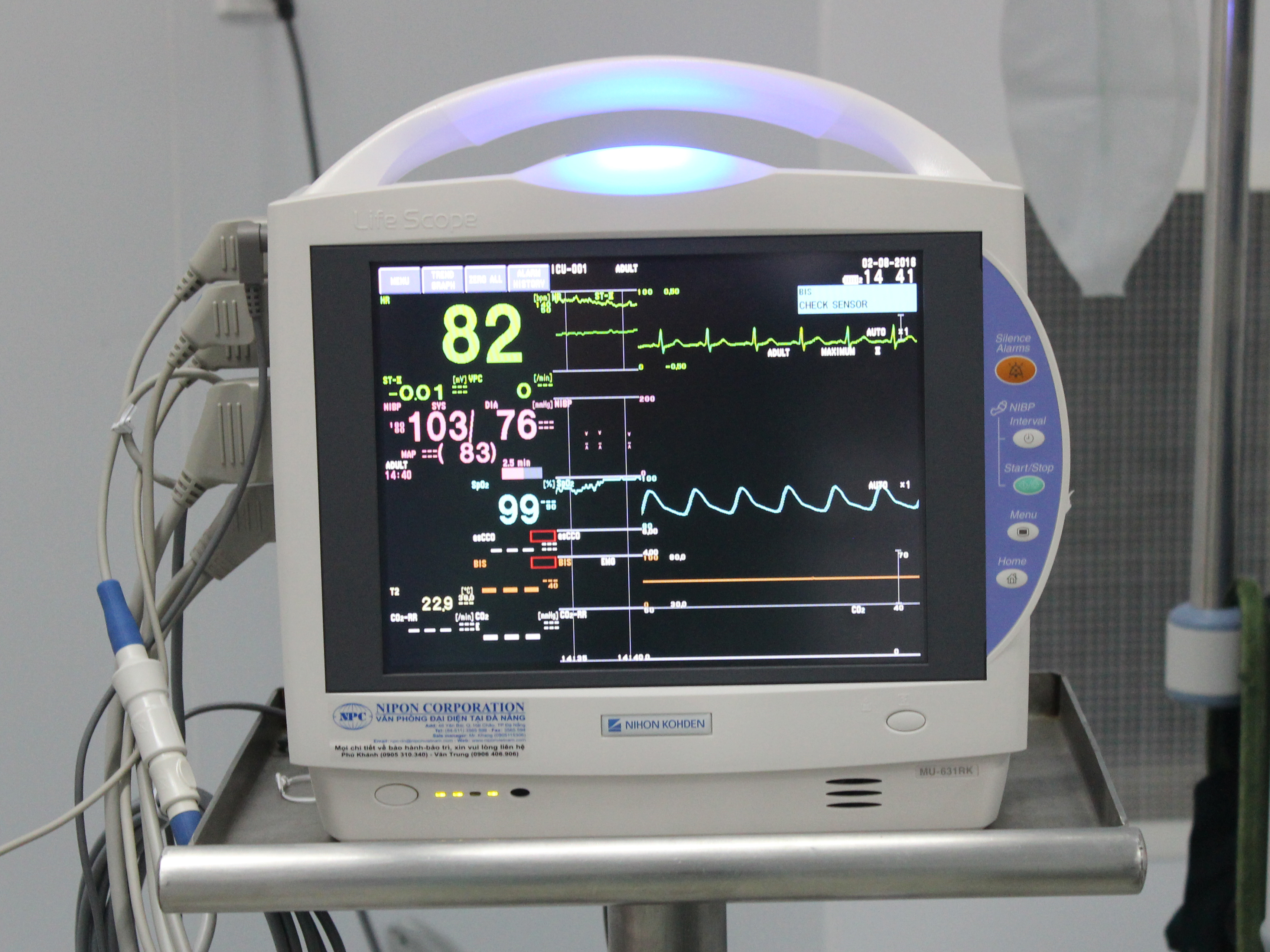 Máy Monitor 9 Thông Số Của Nhật