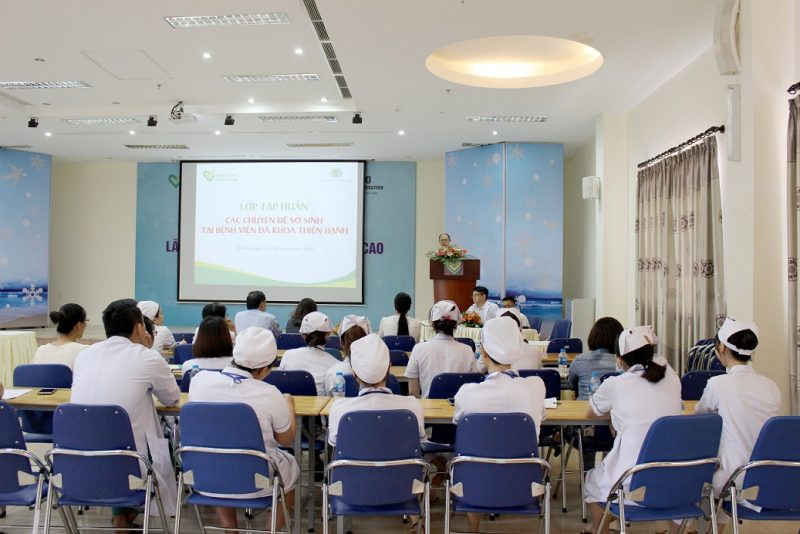 Tập Huấn Các Chuyên đề Sơ Sinh Tại Bệnh Viện đa Khoa Thiện Hạnh