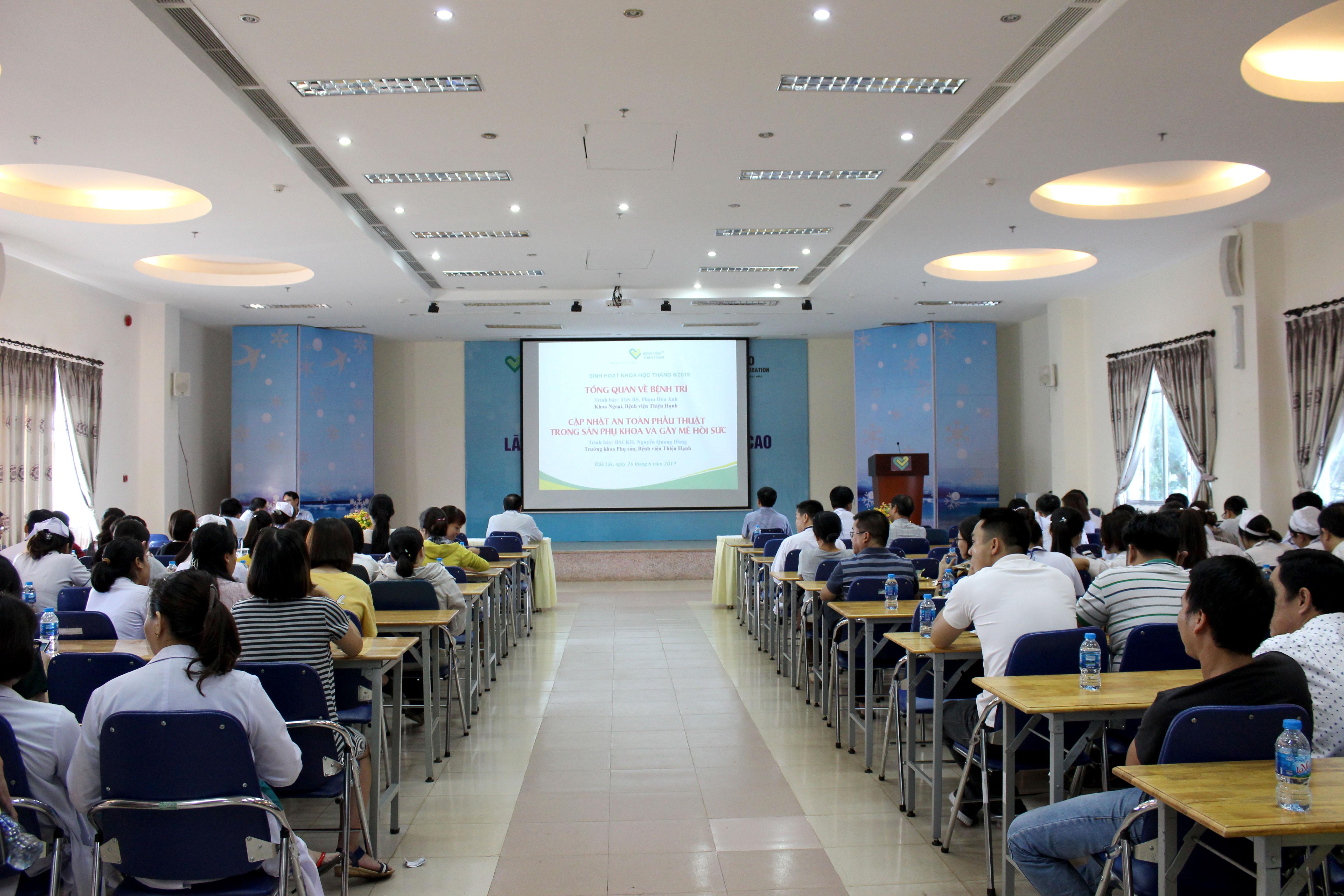 Sinh Hoạt Khoa Học Chuyên đề Bác Sĩ Tháng 6 Năm 2019