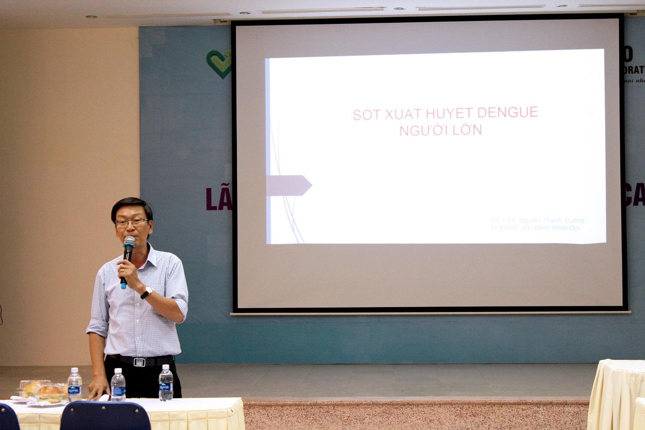 Tập Huấn Chẩn đoán Và điều Trị Bệnh Sốt Xuất Huyết Dengue Người Lớn – Tháng 7/2019