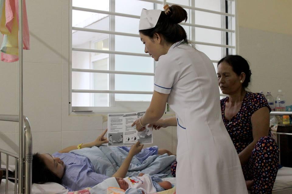Bệnh Viện Thiện Hạnh Hưởng ứng Tuần Lễ Thế Giới Nuôi Con Bằng Sữa Mẹ Năm 2019